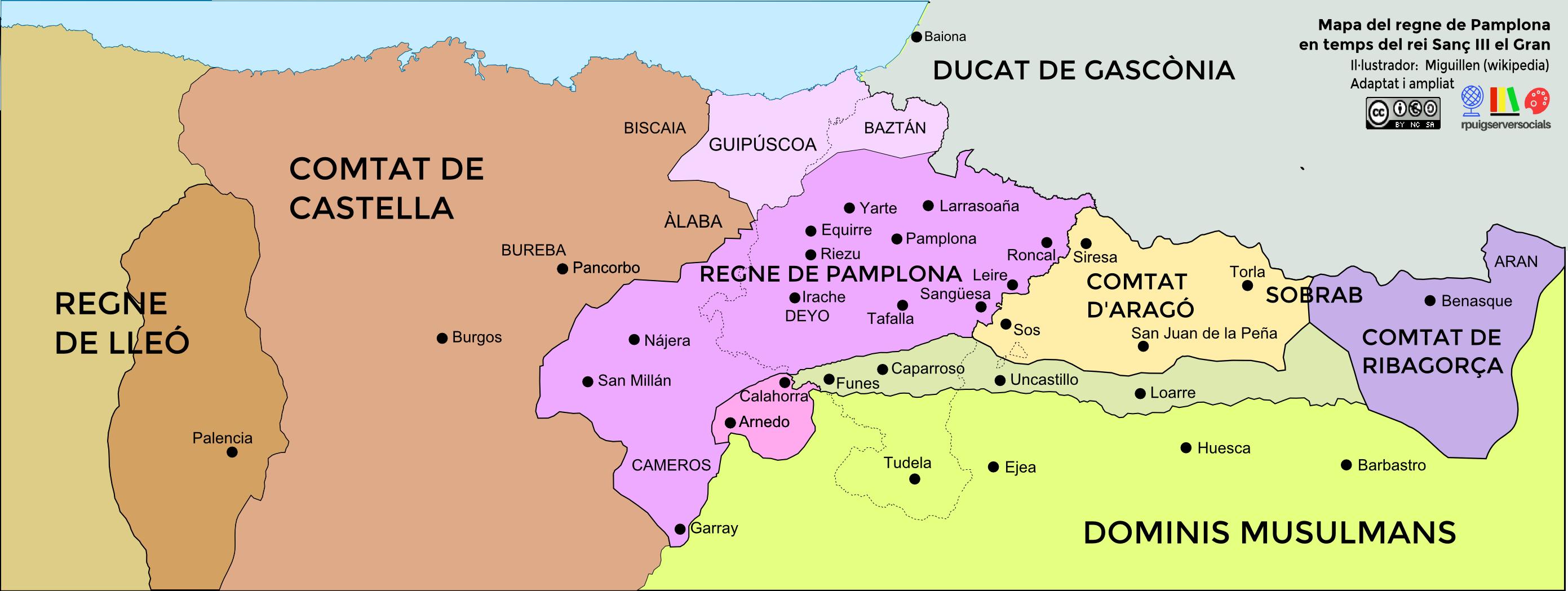 mapa_regen_pamplona_sançiii_segleXI
